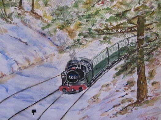 Last Santa's Train