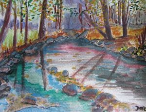 River wash