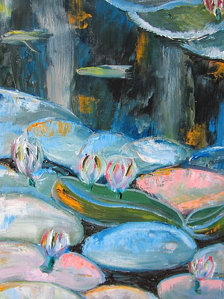 Lilies in the Pond
