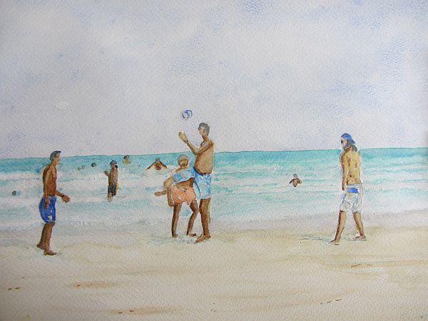 Ry Aus Footy on the Beach