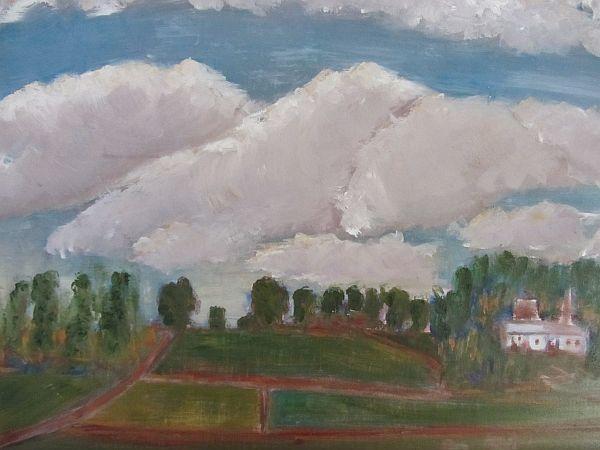 Wateringbury Clouds
