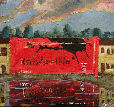 Bandouille on the lake
